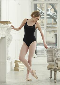 Colorful leotard with adjustable straps