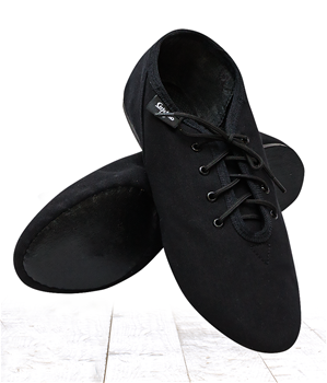 The style has a split soft leather sole with a 6 mm leather or rubber heel. 