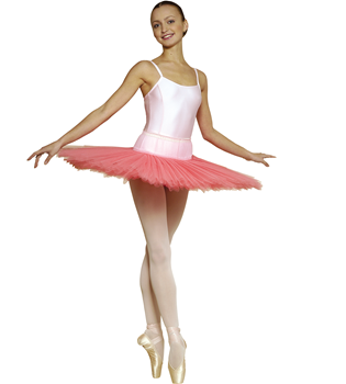 An attractive rehearsal tutu with seven layers of tulle
