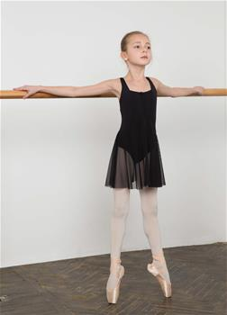 Fashion kids leotard made of breathable polyamide micro