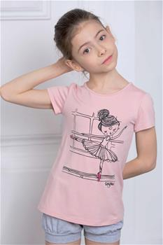 Kid's T-shirt with ballerina