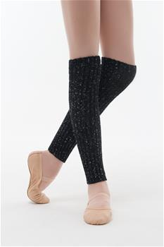 Cozy kids legwarmers for warming-up