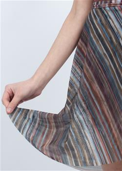 Long wrap skirt with ties for kids.